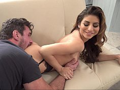 Nina North is an all natural and loves cock