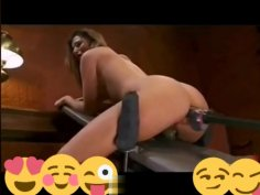 Anal fuck machine compilation