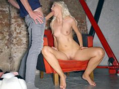 Helena Moeller gives blow and foot jobs to Danny D