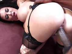 Busty Jasmine Jae Craves Some Big Black Cock